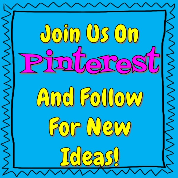 Join Us on Pinterest and Follow for New Ideas!