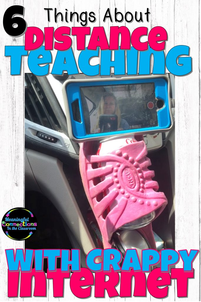 Flip Flop Phone Holder for Distance Teaching in the Car